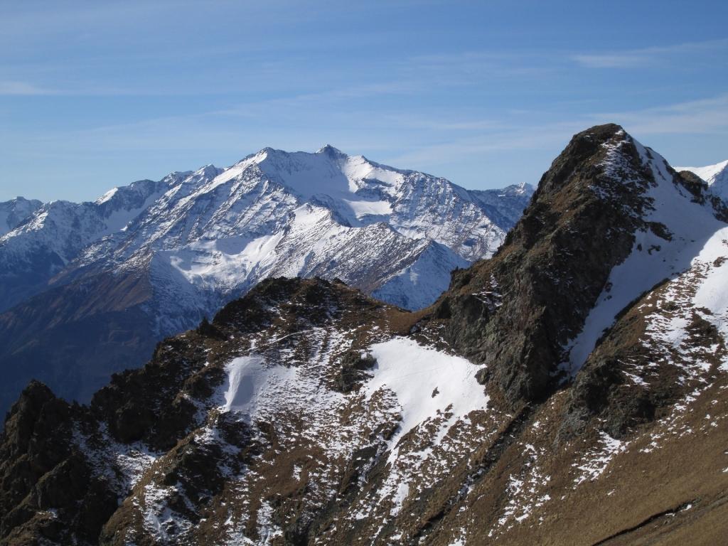 Отрог горы Джуга. В одном месте очень опасный.