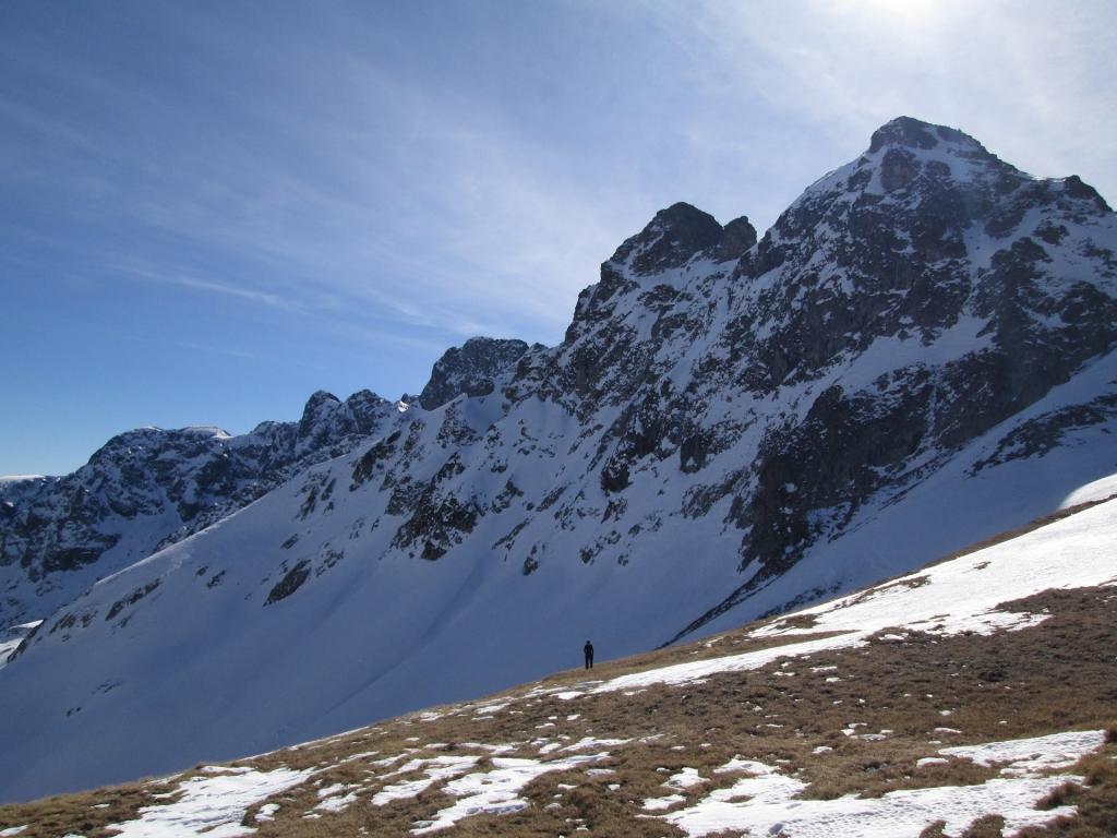 гора Джуга, одна из предвершин.