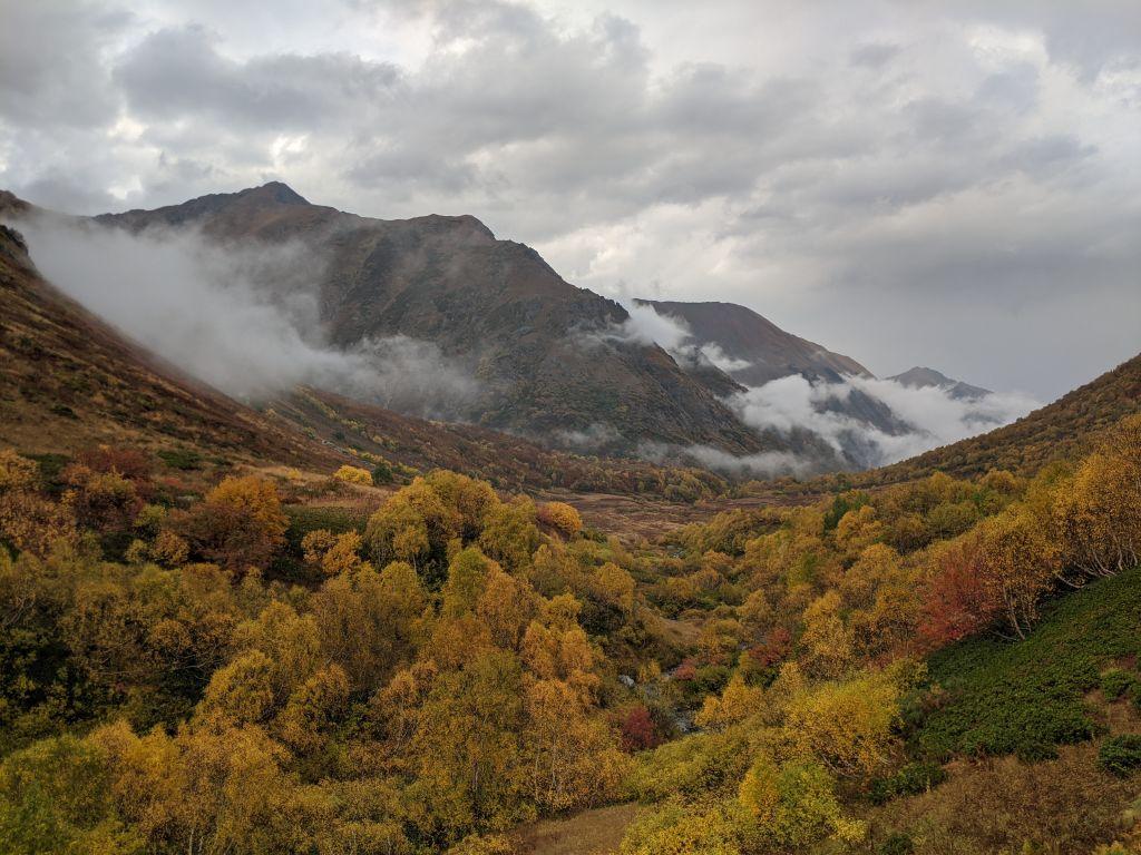 Истоки реки Уруштен