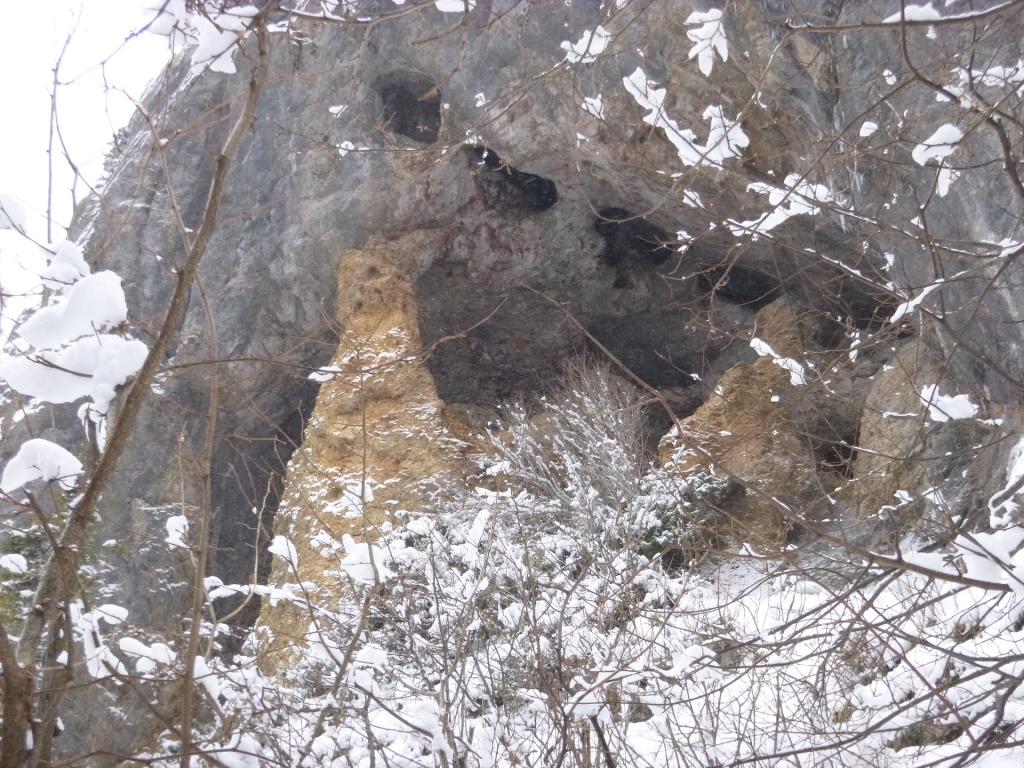 Штольни скалы Афонка