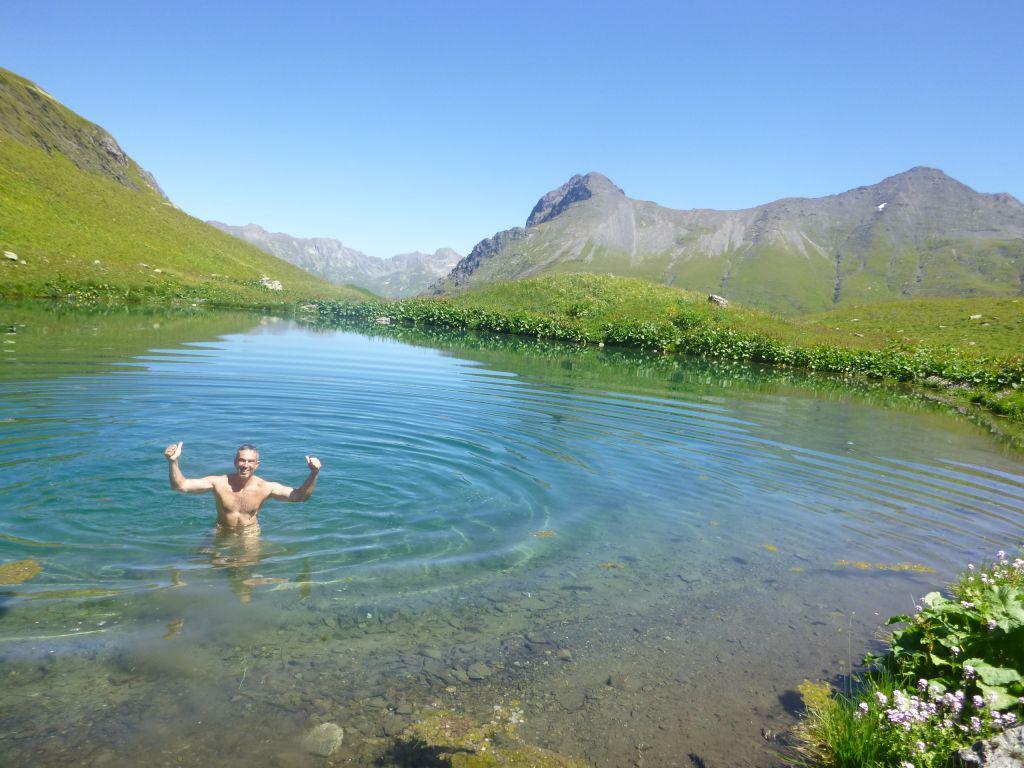 Купель в одном из озер
