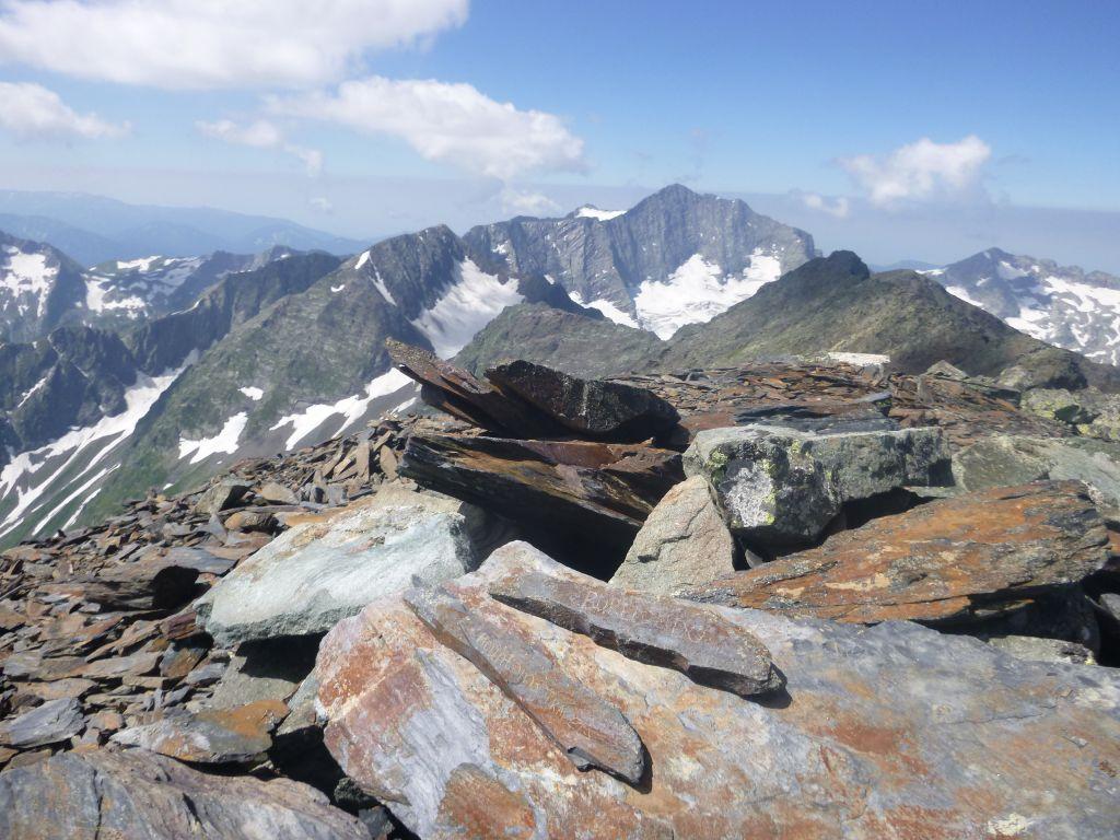 Вершина горы Джемарук