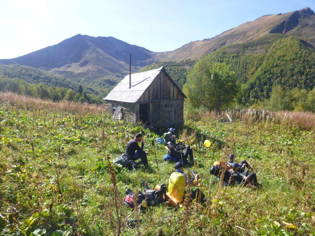Лагерь на реке Грустная.